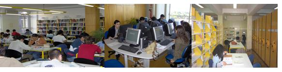 Reading and Multimedia Research Rooms